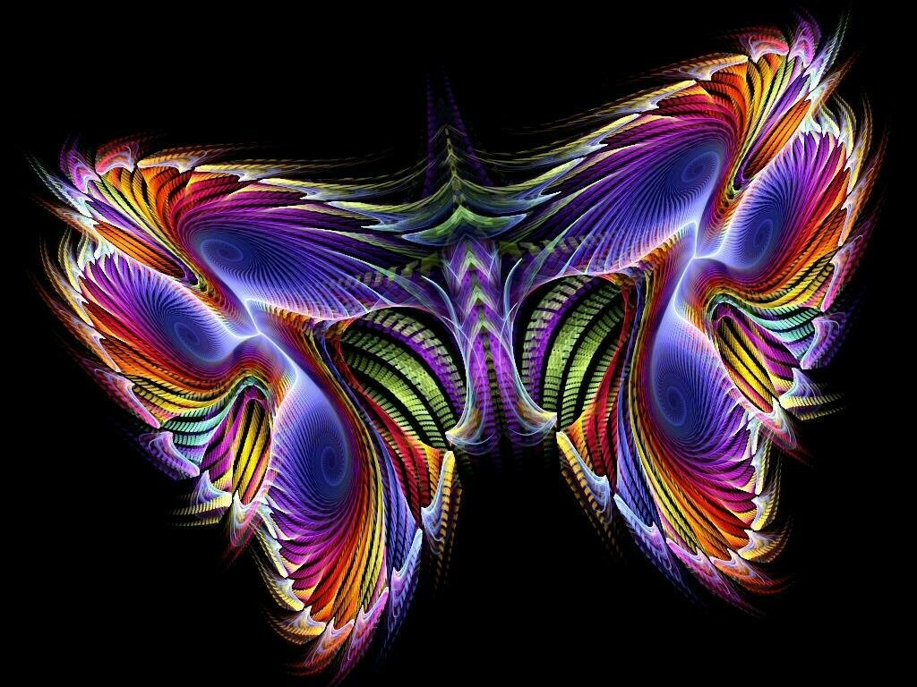 Rainbow fractal 13 - Full Drill Diamond Painting - Specially ordered for you. Delivery is approximately 4 - 6 weeks.