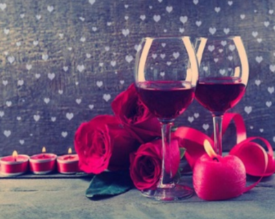 Roses and Wine - Full Drill Diamond Painting - Specially ordered for you. Delivery is approximately 4 - 6 weeks.