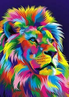 Rainbow Animals 11 - Full Drill Diamond Painting - Specially ordered for you. Delivery is approximately 4 - 6 weeks.