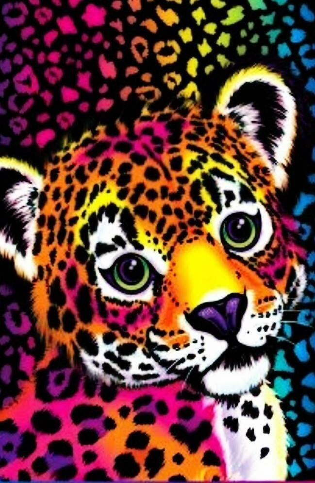 Rainbow Leopard - Full Drill Diamond Painting - Specially ordered for you. Delivery is approximately 4 - 6 weeks.