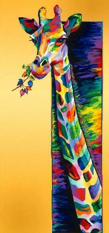 Rainbow Animals 16 - Full Drill Diamond Painting - Specially ordered for you. Delivery is approximately 4 - 6 weeks.