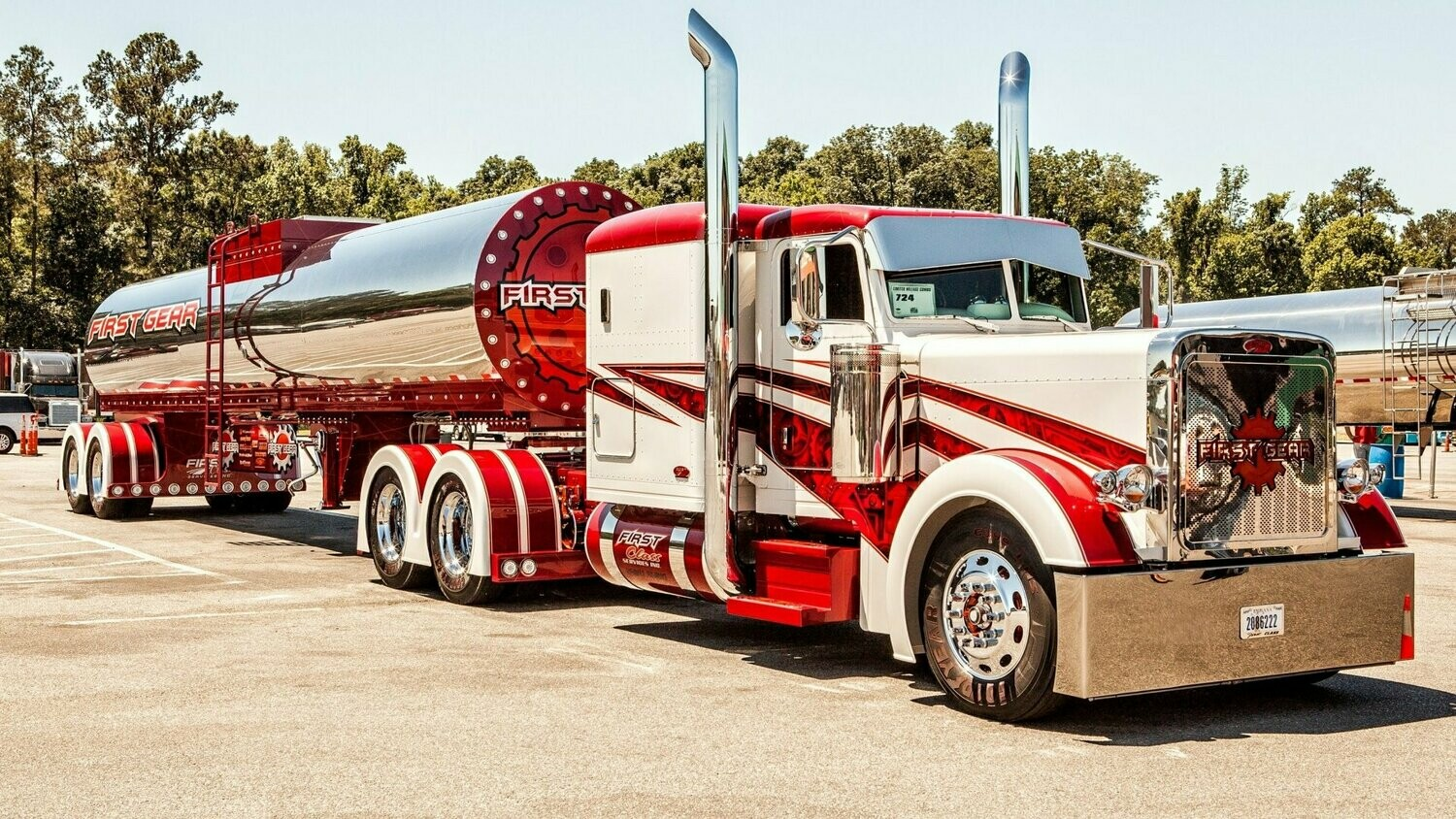 Big Trucks 06 - Full Drill Diamond Painting - Specially ordered for you. Delivery is approximately 4 - 6 weeks.