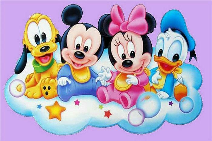 Cartoon Babies - Full Drill Diamond Painting - Specially ordered for you. Delivery is approximately 4 - 6 weeks.