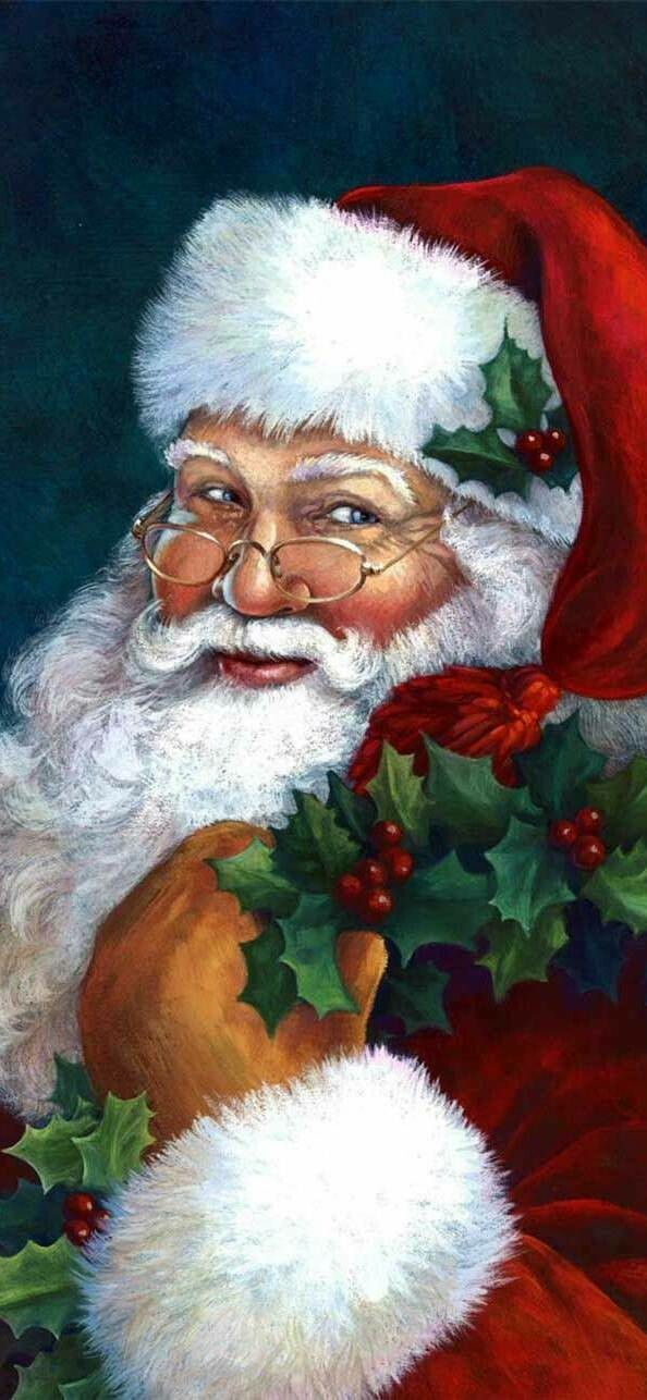 Santa 2 - Full Drill Diamond Painting - Specially ordered for you. Delivery is approximately 4 - 6 weeks.