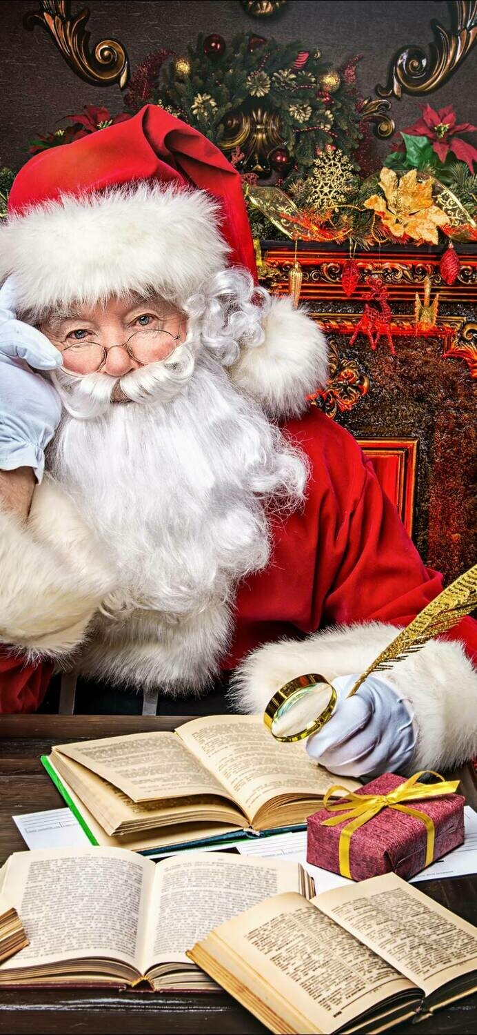 Santa 3 - Full Drill Diamond Painting - Specially ordered for you. Delivery is approximately 4 - 6 weeks.