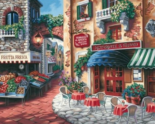 Scenery 16 - Full Drill Diamond Painting - Specially ordered for you. Delivery is approximately 4 - 6 weeks.