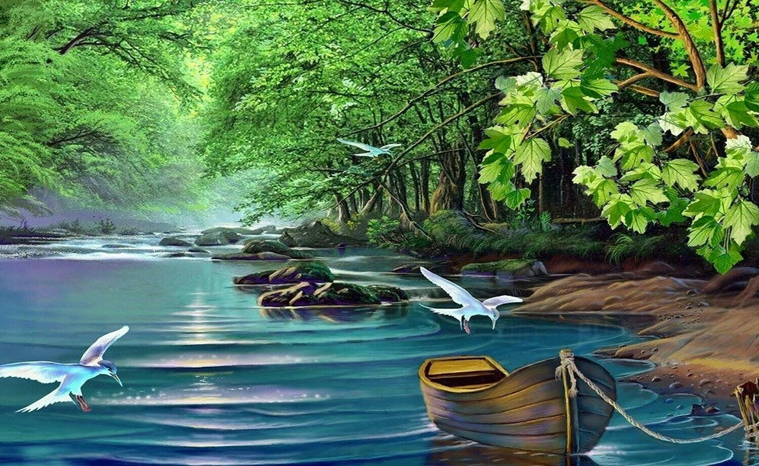 Scenery Artwork 07 - Full Drill Diamond Painting - Specially ordered for you. Delivery is approximately 4 - 6 weeks.