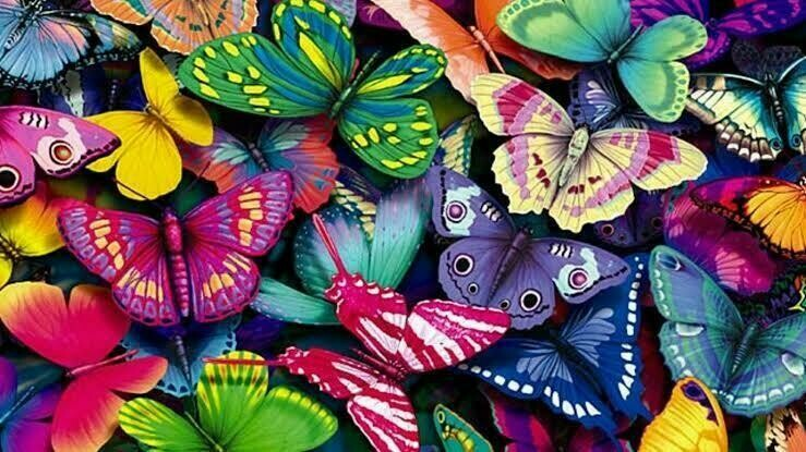 Butterflies 06 - Full Drill Diamond Painting - Specially ordered for you. Delivery is approximately 4 - 6 weeks.