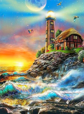 Scenery 22 - Full Drill Diamond Painting - Specially ordered for you. Delivery is approximately 4 - 6 weeks.