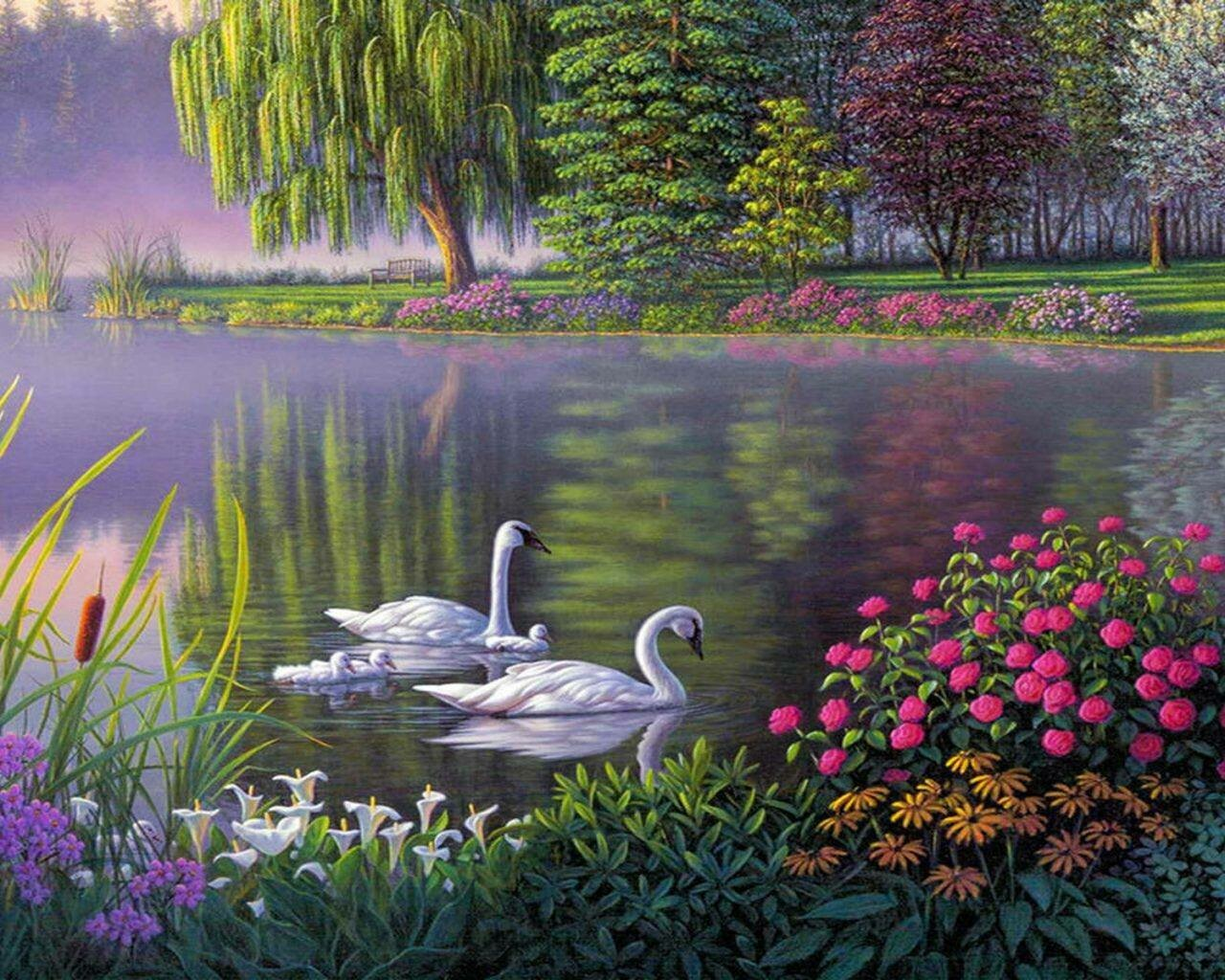 Scenery Artwork 11 - Full Drill Diamond Painting - Specially ordered for you. Delivery is approximately 4 - 6 weeks.
