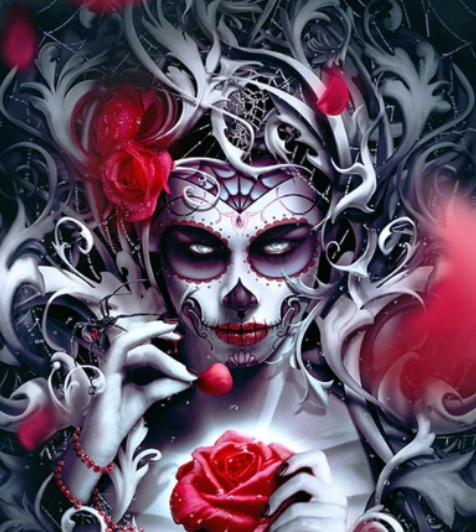 Gothic Queen - Full Drill Diamond Painting - Specially ordered for you. Delivery is approximately 4 - 6 weeks.