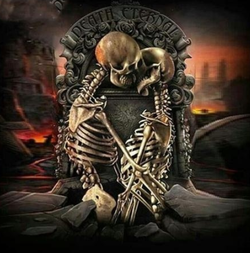 Skeleton Lovers - Full Drill Diamond Painting - Specially ordered for you. Delivery is approximately 4 - 6 weeks.