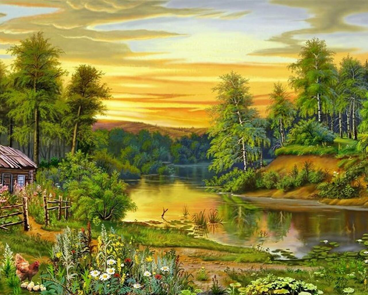 Scenery Artwork 06 - Full Drill Diamond Painting - Specially ordered for you. Delivery is approximately 4 - 6 weeks.