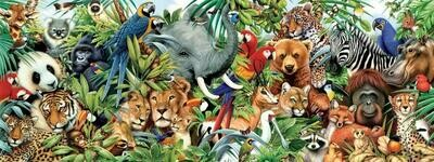 Animals Galore - Full Drill Diamond Painting - Specially ordered for you. Delivery is approximately 4 - 6 weeks.