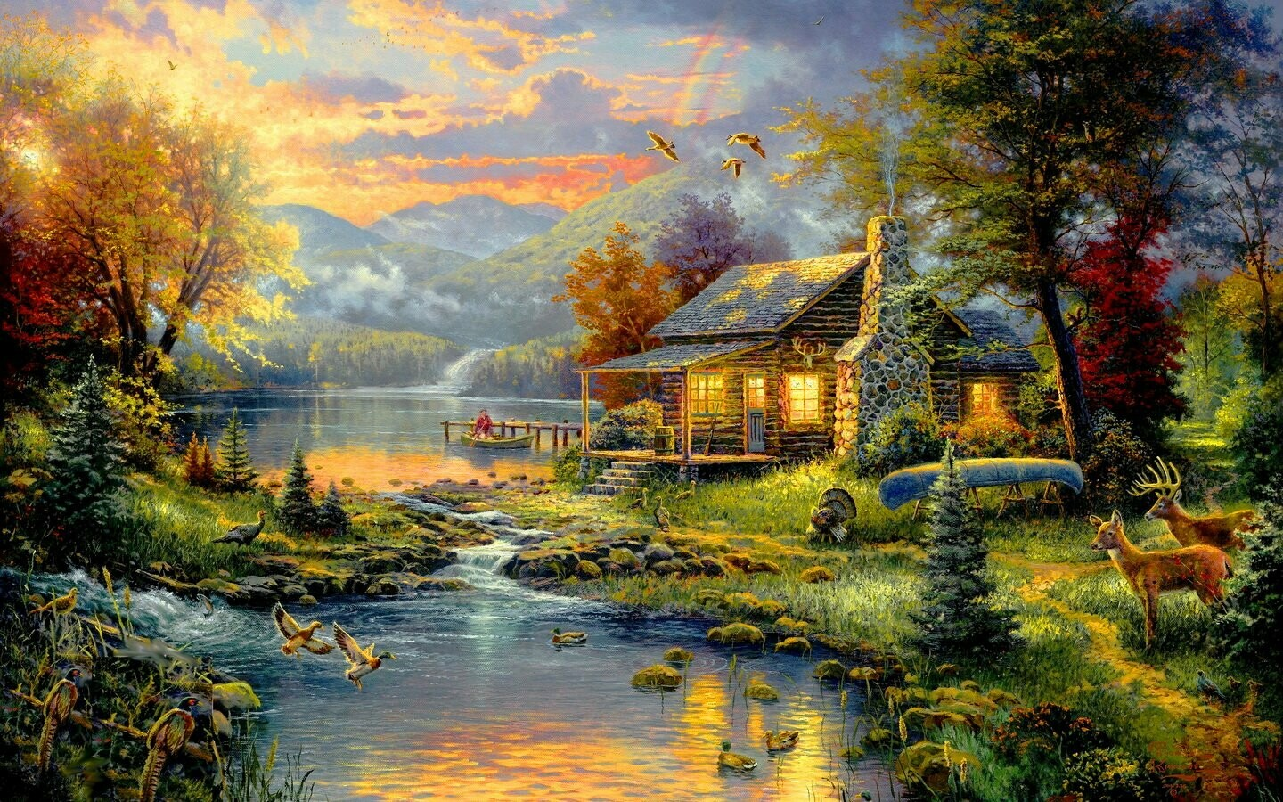 Scenery Artwork 12 - Full Drill Diamond Painting - Specially ordered for you. Delivery is approximately 4 - 6 weeks.