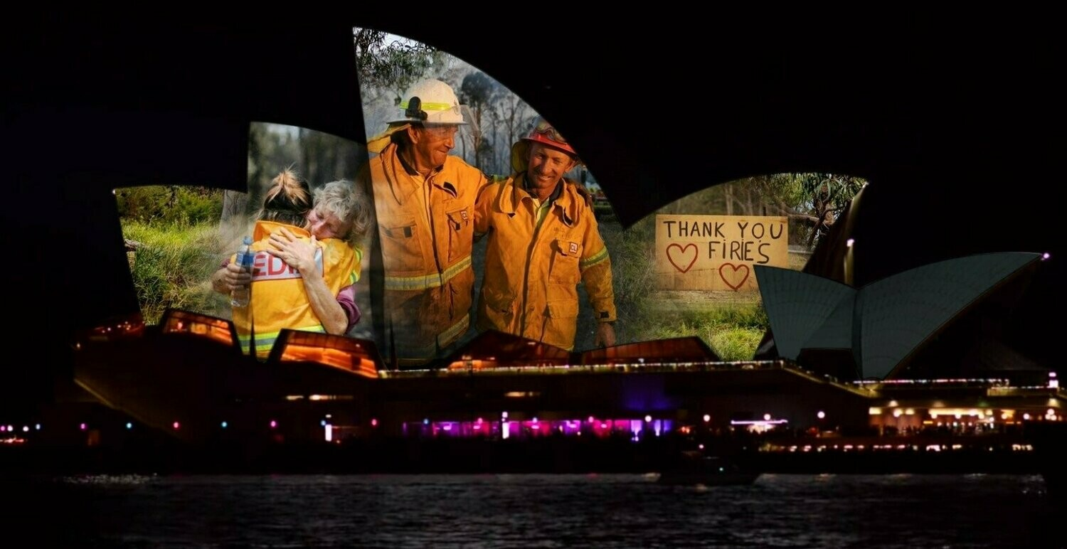 Australia Thanks It's Fire Fighters - Full Drill Diamond Painting - Specially ordered for you. Delivery is approximately 4 - 6 weeks.