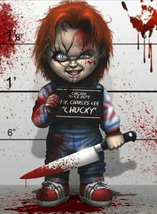 Chucky 04 - Full Drill Diamond Painting - Specially ordered for you. Delivery is approximately 4 - 6 weeks.