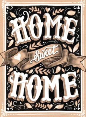Home Sweet Home 03 - Full Drill Diamond Painting - Specially ordered for you. Delivery is approximately 4 - 6 weeks.