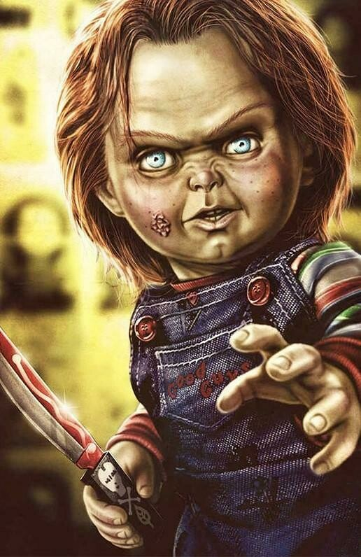 Chucky 02 - Full Drill Diamond Painting - Specially ordered for you. Delivery is approximately 4 - 6 weeks.