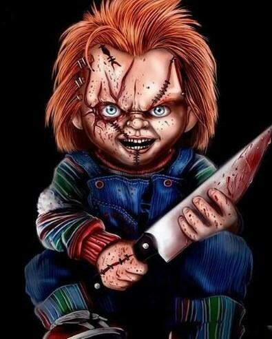 Chucky 03 - Full Drill Diamond Painting - Specially ordered for you. Delivery is approximately 4 - 6 weeks.