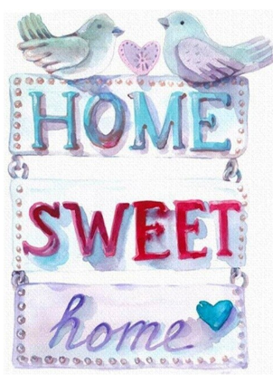 Home Sweet Home 02 - Full Drill Diamond Painting - Specially ordered for you. Delivery is approximately 4 - 6 weeks.