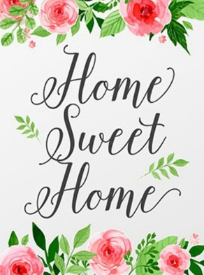 Home Sweet Home 01 - Full Drill Diamond Painting - Specially ordered for you. Delivery is approximately 4 - 6 weeks.