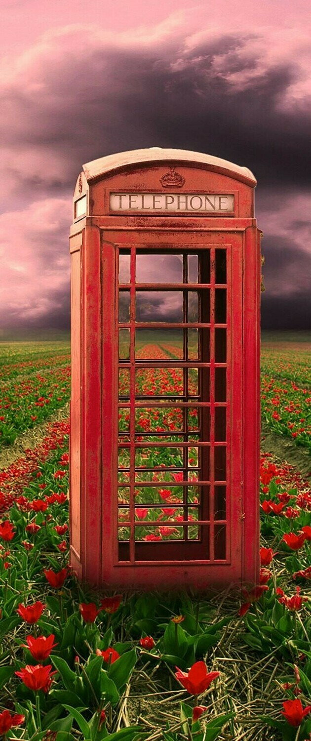 Telephone Box 04 - Full Drill Diamond Painting - Specially ordered for you. Delivery is approximately 4 - 6 weeks.