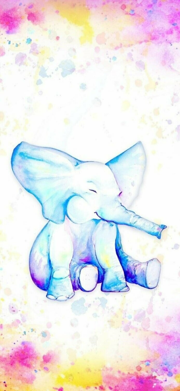 Watercolour Elephant 01 - Full Drill Diamond Painting - Specially ordered for you. Delivery is approximately 4 - 6 weeks.