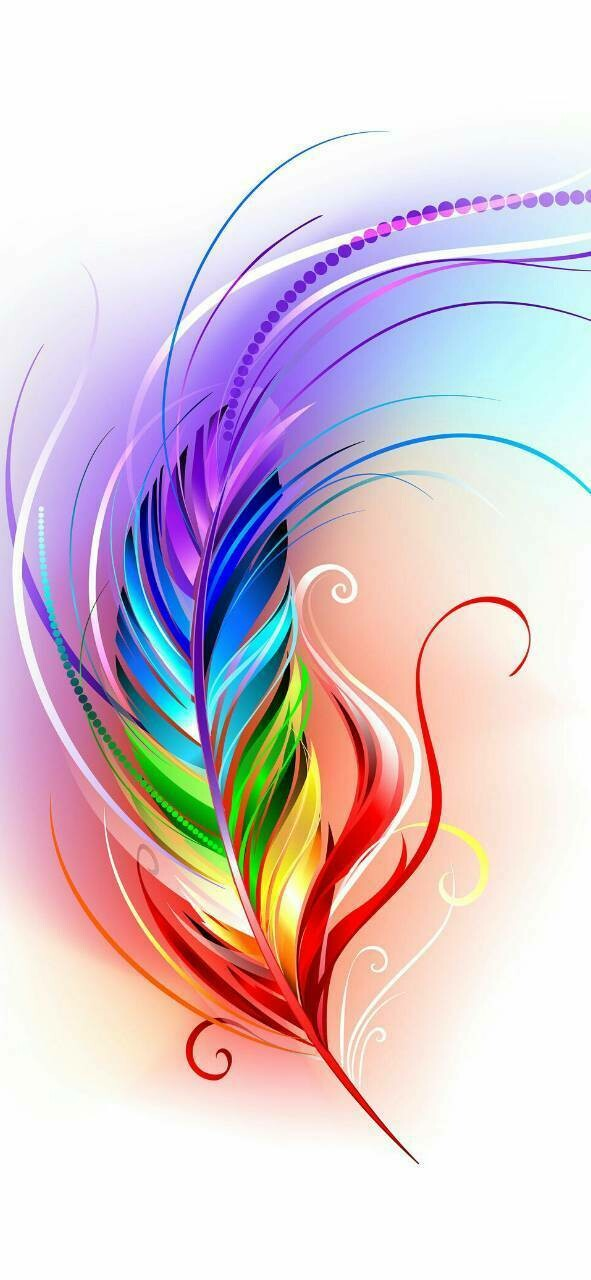 Vibrant Feather - Full Drill Diamond Painting - Specially ordered for you. Delivery is approximately 4 - 6 weeks.