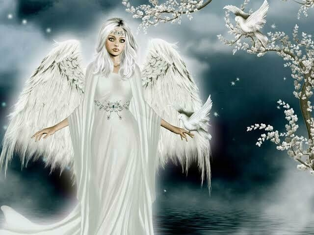 White Angel - Full Drill Diamond Painting - Specially ordered for you. Delivery is approximately 4 - 6 weeks.