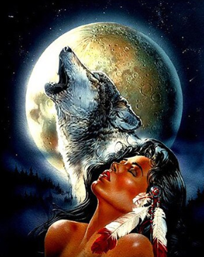 Wolf Howl - Full Drill Diamond Painting - Specially ordered for you. Delivery is approximately 4 - 6 weeks.