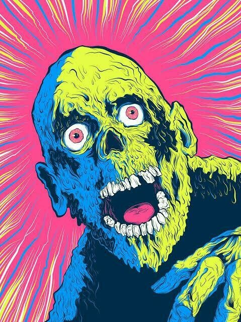 Zombie Colour - Full Drill Diamond Painting - Specially ordered for you. Delivery is approximately 4 - 6 weeks.