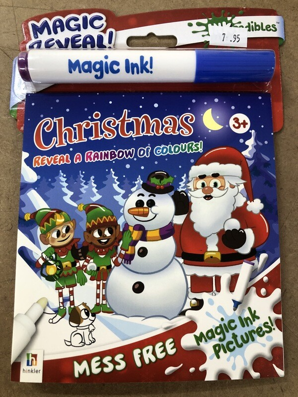 Christmas Magic Reveal Colouring Set