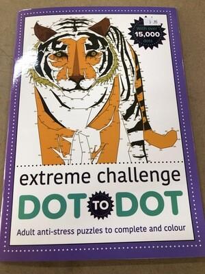 Extreme Challenge Dot to Dot Book