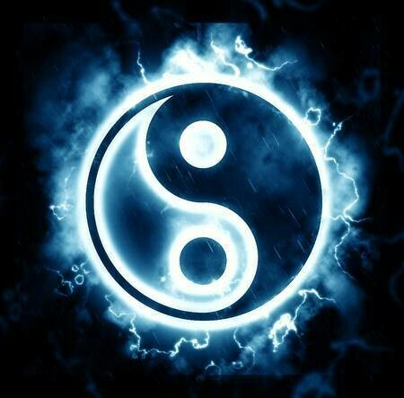 Lightning Yin Yang Sign- Full Drill Diamond Painting - Specially ordered for you. Delivery is approximately 4 - 6 weeks.