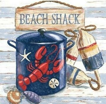 Beach Shack - Full Drill Diamond Painting - Specially ordered for you. Delivery is approximately 4 - 6 weeks.