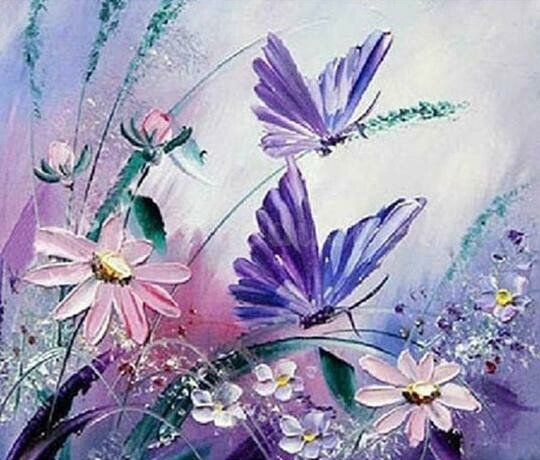 Butterflies 2 - Full Drill Diamond Painting - Specially ordered for you. Delivery is approximately 4 - 6 weeks.