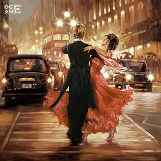 Dancing In The City - Full Drill Diamond Painting - Specially ordered for you. Delivery is approximately 4 - 6 weeks.