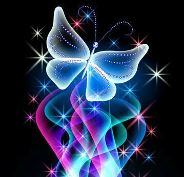 Butterfly Light- Full Drill Diamond Painting - Specially ordered for you. Delivery is approximately 4 - 6 weeks.
