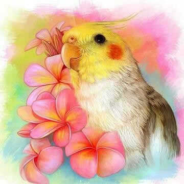 Cockatiel- Full Drill Diamond Painting - Specially ordered for you. Delivery is approximately 4 - 6 weeks.