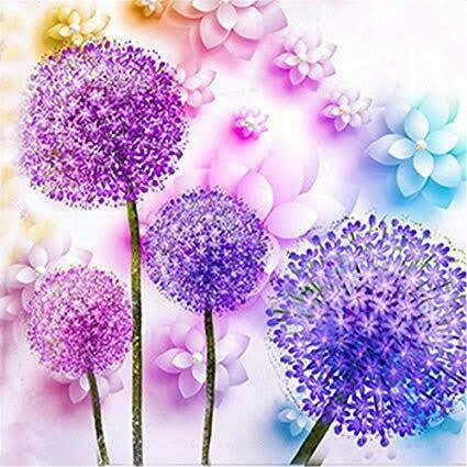 Dandelion2 - Full Drill Diamond Painting - Specially ordered for you. Delivery is approximately 4 - 6 weeks.