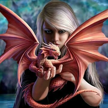 Dragon Girl - Full Drill Diamond Painting - Specially ordered for you. Delivery is approximately 4 - 6 weeks.