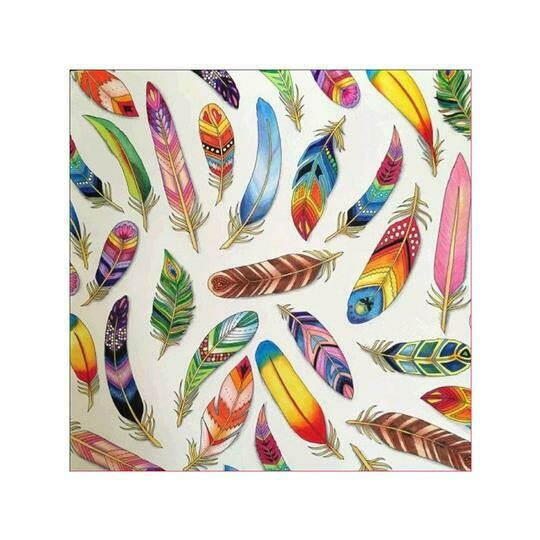 Feathers - Full Drill Diamond Painting - Specially ordered for you. Delivery is approximately 4 - 6 weeks.