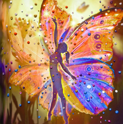 Fairy 08 - Full Drill Diamond Painting - Specially ordered for you. Delivery is approximately 4 - 6 weeks.