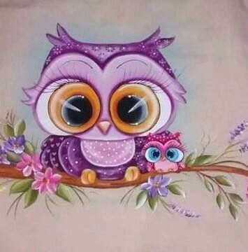 Little Owl 4 - Full Drill Diamond Painting - Specially ordered for you. Delivery is approximately 4 - 6 weeks.