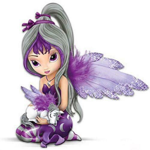 Little Purple Fairy - Full Drill Diamond Painting - Specially ordered for you. Delivery is approximately 4 - 6 weeks.