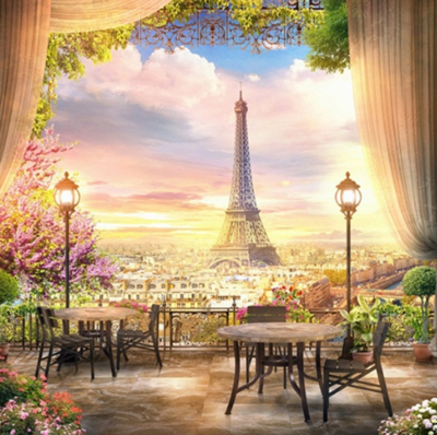 Paris 04 - Full Drill Diamond Painting - Specially ordered for you. Delivery is approximately 4 - 6 weeks.