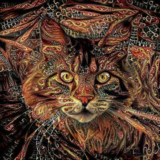 Maine Coon Cat- Full Drill Diamond Painting - Specially ordered for you. Delivery is approximately 4 - 6 weeks.