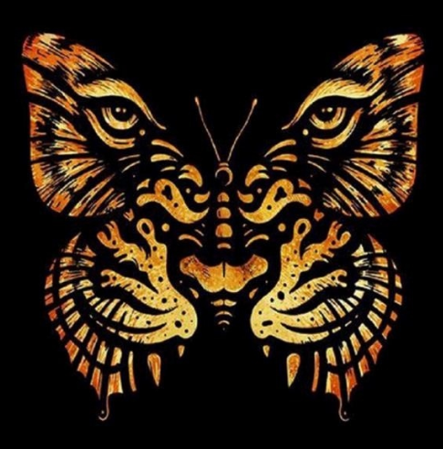 Tiger Butterfly - Full Drill Diamond Painting - Specially ordered for you. Delivery is approximately 4 - 6 weeks.