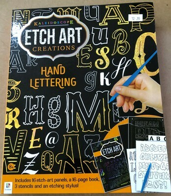 Etch Art Creations - Hand Lettering